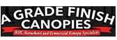A Grade Finish Canopies Logo