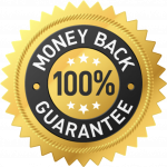 100% Money back quarantee logo